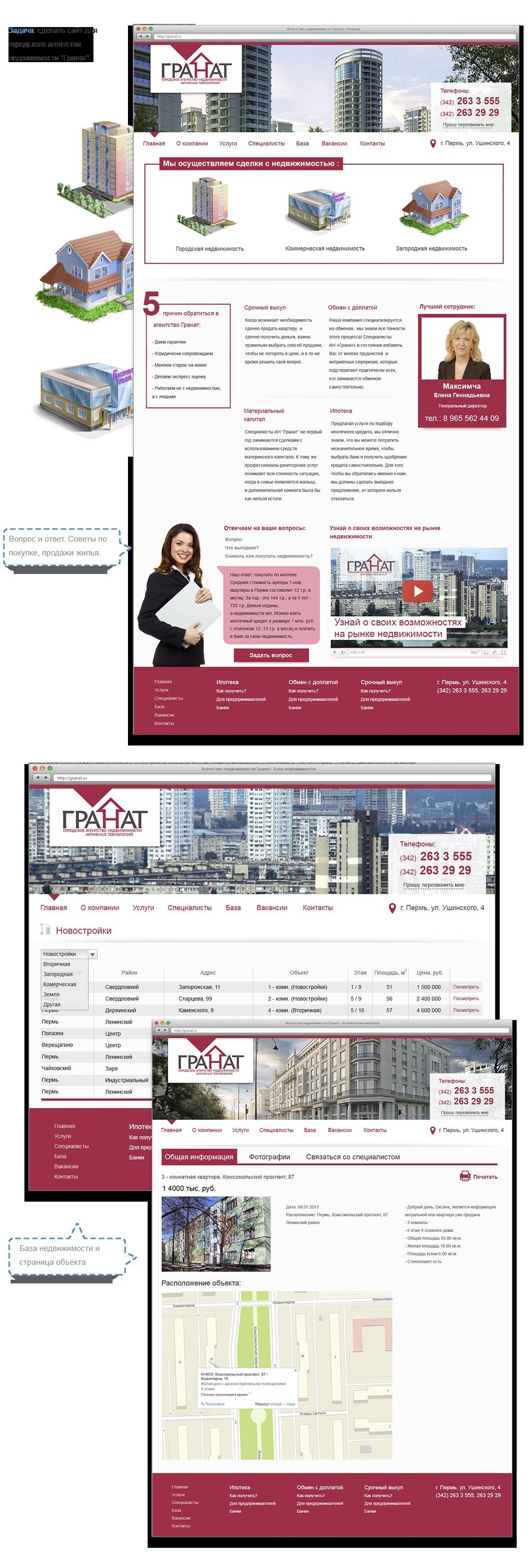 Как сделать сайт для агентства недвижимости